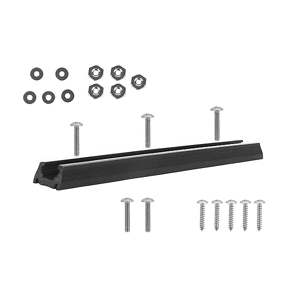 Yak Gear Accessory Mounting Track - Plastic 8 in., Black, 600