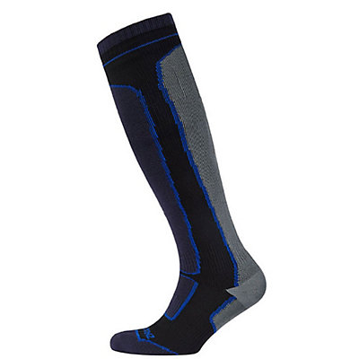 Seal Skinz Knee-Length Mid-Weight Socks, Black, viewer