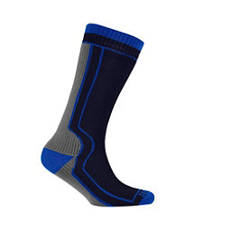 Seal Skinz Mid-Length Thick Socks, Black, 256