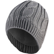 Seal Skinz Waterproof Knit Beanie, Gray, medium