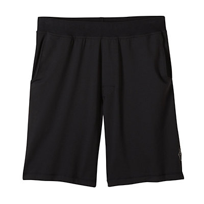 Prana Mojo Chakara Mens Shorts, Black, viewer