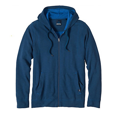 Prana Barringer Full Zip Mens Hoodie & Sweatshirt, , viewer