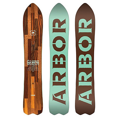 Arbor Cosa Nostra Snowboard, , viewer