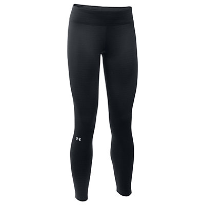 Under Armour Base 2.0 Womens Long Underwear Pants, Black-Glacier Gray, viewer