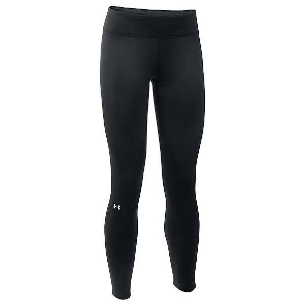 Under Armour Base 2.0 Womens Long Underwear Pants, Black-Glacier Gray, 600