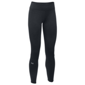 Under Armour Base 4.0 Womens Long Underwear Pants, Black-Glacier Gray, medium