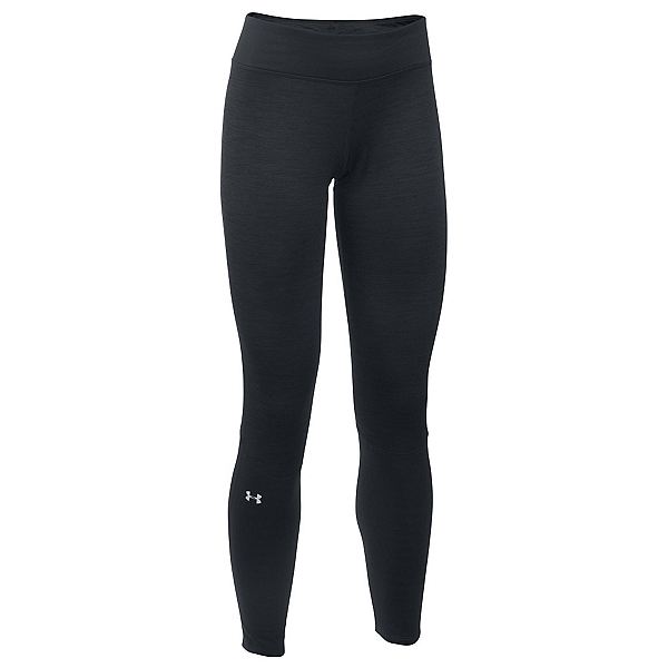 Under Armour Base 4.0 Womens Long Underwear Pants, Black-Glacier Gray, 600