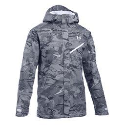 Under Armour ColdGear Infrared Powerline Mens Shell Ski Jacket, White-White-White, 256