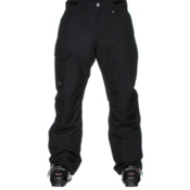 Under Armour ColdGear Infrared Chutes Insulated Mens Ski Pants, Black-Graphite-Steel, medium