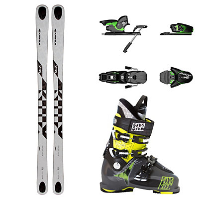 Kastle BMX 78, Salomon Z12, and Atomic Waymaker Carbon 110X Ski Package, , viewer