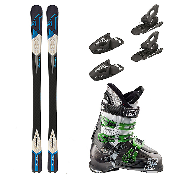 Nordica Avenger 82, Tyrolia SX 10, and Atomic Waymaker 90 Ski Package, , 600