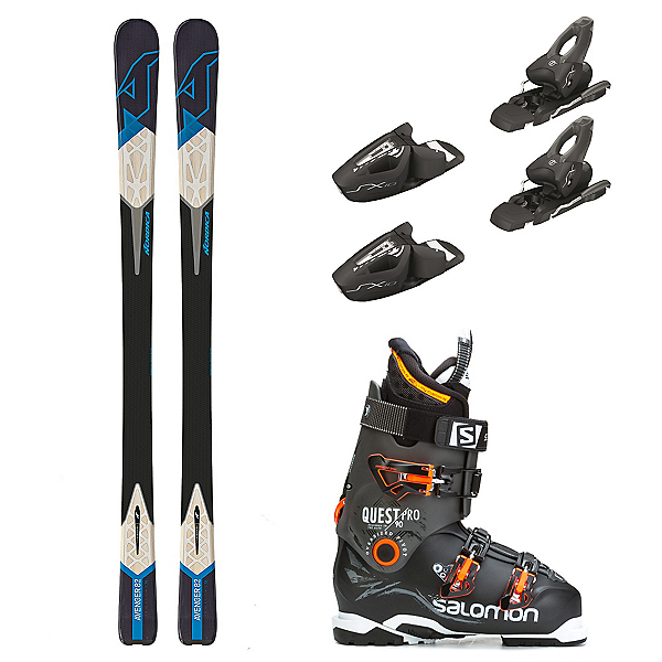 Nordica Avenger 82, Tyrolia SX 10, and Salomon Quest Pro 90 Ski Package, , 600