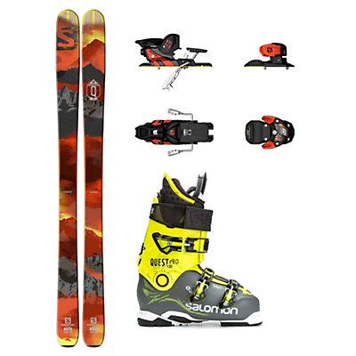 Salomon Q-98 Quest Pro 130 Ski Package, , viewer