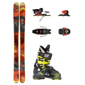 Salomon Q-98 Waymaker Carbon 110X Ski Package 2016, , medium