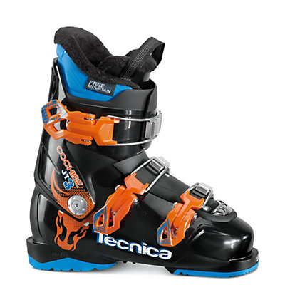 Tecnica JT 3 Cochise Kids Ski Boots 2017, Black-Orange, viewer