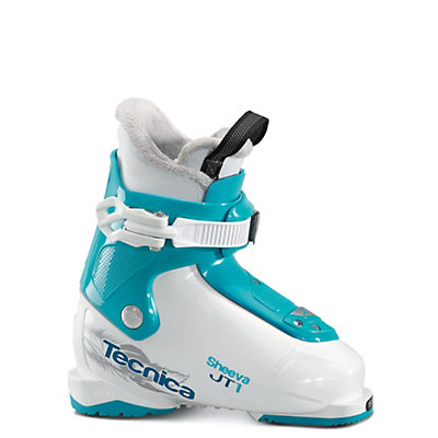 Tecnica JT 1 Sheeva Girls Ski Boots 2017, White-Black, viewer