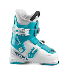 Tecnica JT 2 Sheeva Girls Ski Boots 2017, White-Black, 256