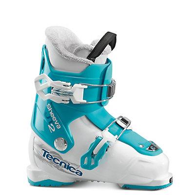 Tecnica JT 2 Sheeva Girls Ski Boots 2017, White-Black, viewer