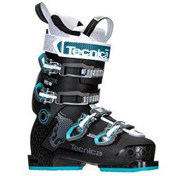 Tecnica Cochise 85W Womens Ski Boots 2017, Black-Blue, 256