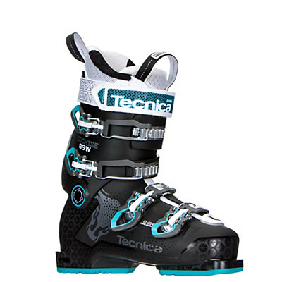 Tecnica Cochise 85W Womens Ski Boots 2017, Black-Blue, viewer