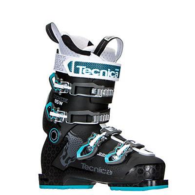 Tecnica Cochise 85W Womens Ski Boots 2017, Black-Blue, viewer