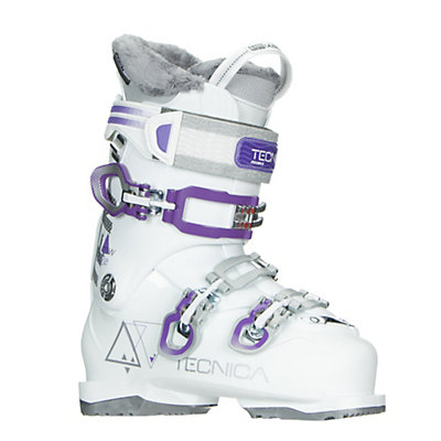 Tecnica Ten.2 75W C.A. Womens Ski Boots 2017, White, viewer