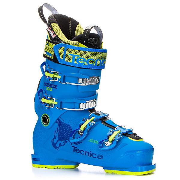 Tecnica Cochise 100 Ski Boots 2018, Dark Process Blue, 600