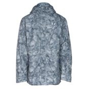 Under Armour ColdGear Infrared Timbr Mens Insulated Ski Jacket, Overcast Gray-Ultra Blue-Ultra Blue, medium