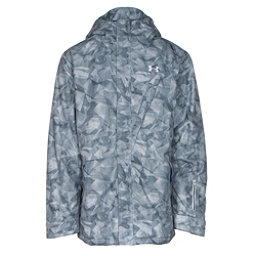 Under Armour ColdGear Infrared Timbr Mens Insulated Ski Jacket, Overcast Gray-Ultra Blue-Ultra Blue, 256