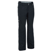 Under Armour ColdGear Infrared Chutes Womens Ski Pants, Black-Glacier Gray, medium
