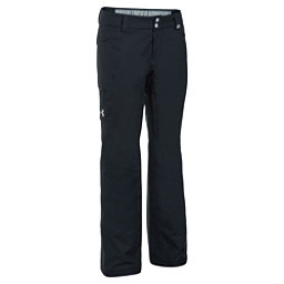 Under Armour ColdGear Infrared Chutes Womens Ski Pants, Black-Glacier Gray, 256