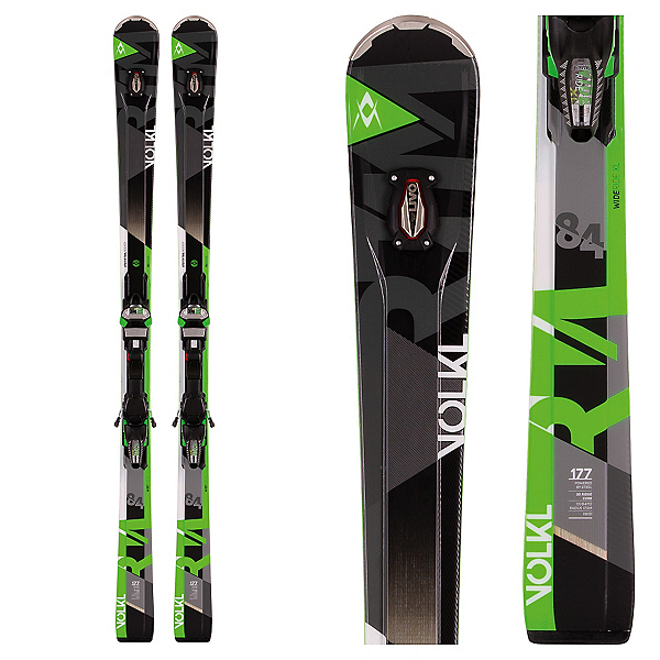 Volkl RTM 84 UVO Skis with Marker IPT Wideride 12.0 Bindings, , 600