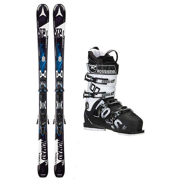 Atomic Nomad Blackeye TI AllSpeed 100 Ski Package, , 600