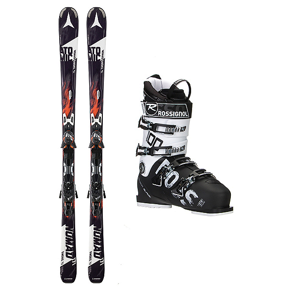 Atomic Nomad Smoke TI AllSpeed 100 Ski Package, , 600