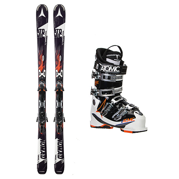 Atomic Nomad Smoke TI Hawx 2.0 90 Ski Package, , 600
