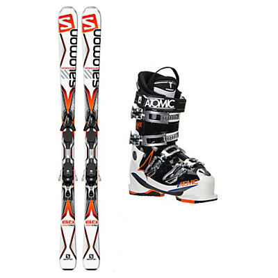 Salomon X-Drive 8.0 TI Hawx 2.0 90 Ski Package, , viewer