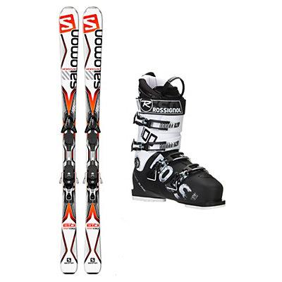 Salomon X-Drive 8.0 AllSpeed 100 Ski Package, , viewer