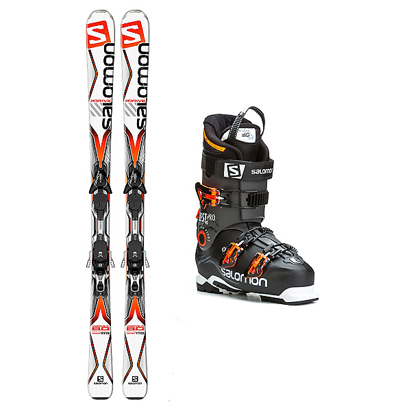 Salomon X-Drive 8.0 TI Quest Pro 90 Ski Package, , 600