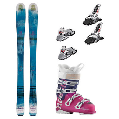 Salomon Q-83 Myriad AllTrack 70 Womens Ski Package, , viewer