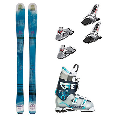 Salomon Q-83 Myriad Quest Pro 80 Womens Ski Package, , viewer