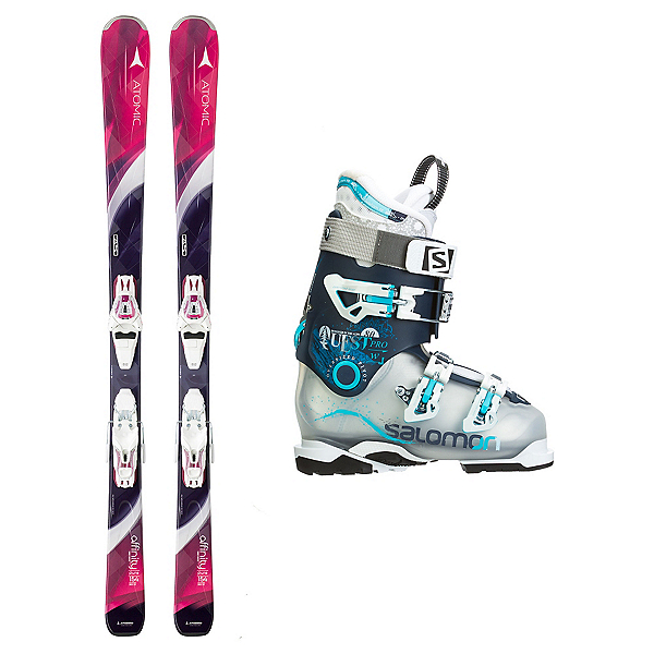 Atomic Affinity Pure Quest Pro 80 Womens Ski Package, , 600