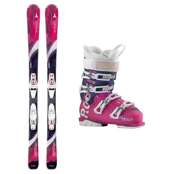 Atomic Affinity Pure AllTrack 70 Womens Ski Package, , 600