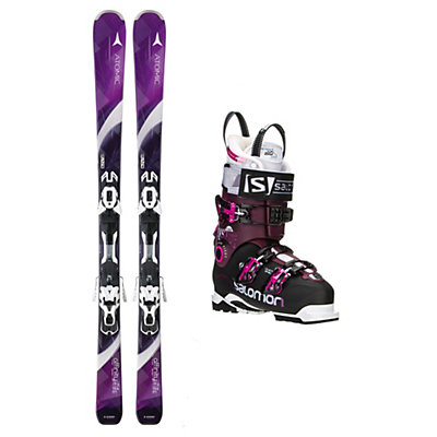 Atomic Affinity Sky Quest Pro 100 Womens Ski Package, , viewer