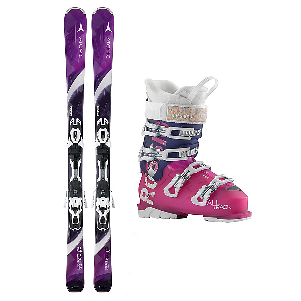 Atomic Affinity Sky AllTrack 70 Womens Ski Package, , 600