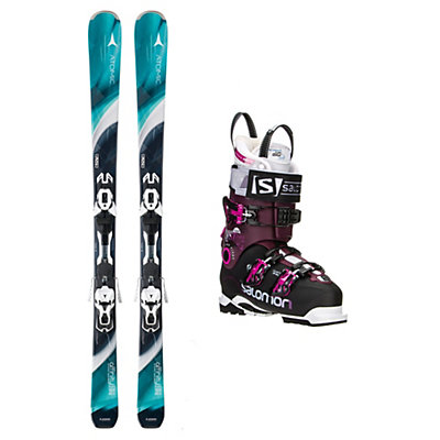 Atomic Affinity Storm Quest Pro 100 Womens Ski Package, , viewer