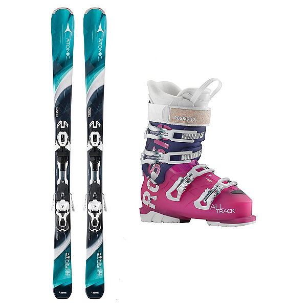 Atomic Affinity Storm AllTrack 70 Womens Ski Package, , 600
