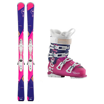 Rossignol Temptation 80 AllTrack 70 Womens Ski Package, , viewer