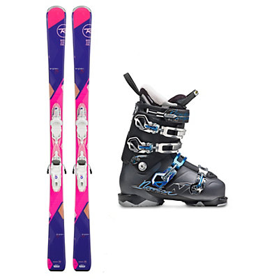 Rossignol Temptation 80 Belle H3 W Womens Ski Package, , viewer