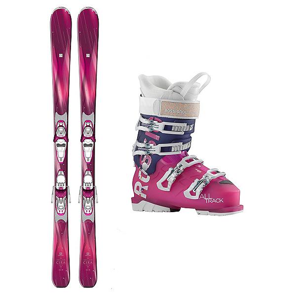 Salomon Cira AllTrack 70 Womens Ski Package, , 600