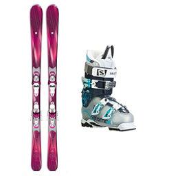 Salomon Cira Quest Pro 80 Womens Ski Package, , 256
